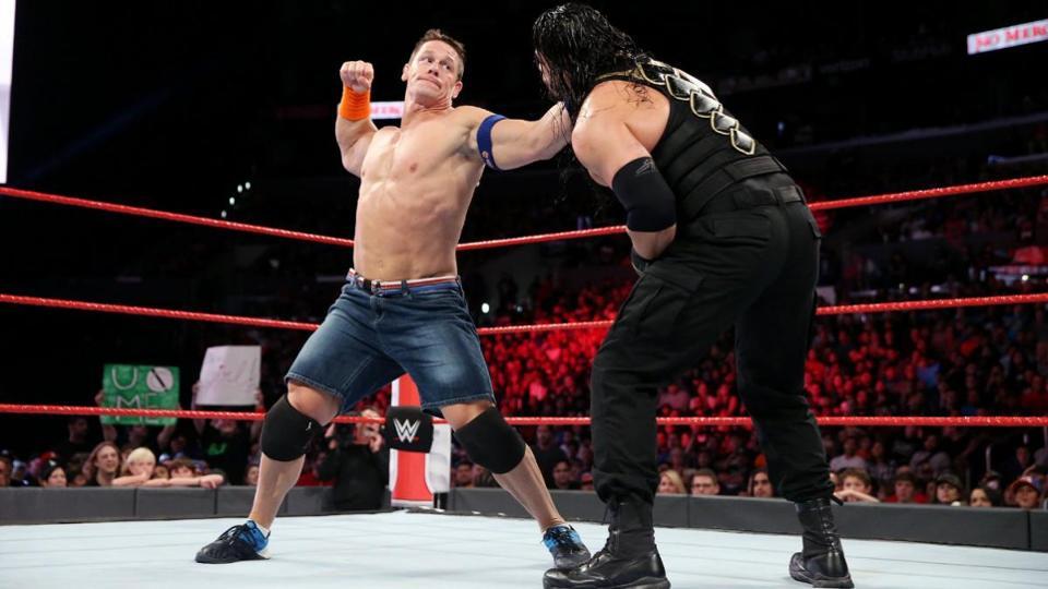 WWE Match