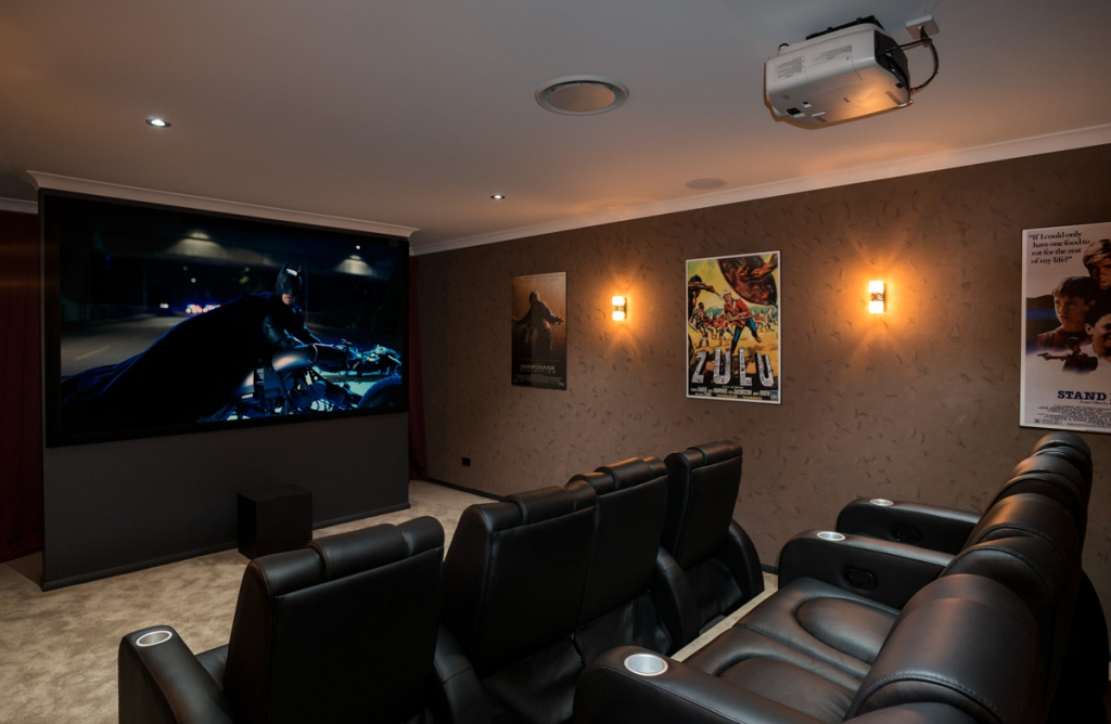 Home Theatre Installation in Gold Coast